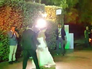 Ingresso Sposi con lento e Flash mob -  villa Randazzo