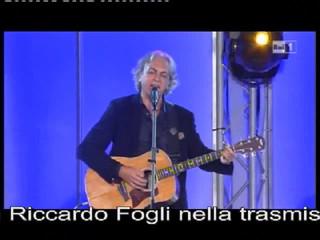 Con Riccardo Fogli