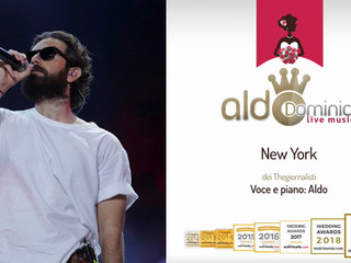 Aldo - New York (Thegiornalisti) - demo audio