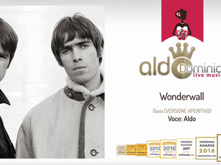 Aldo - Wonderwall (Oasis, versione aperitivo) demo audio