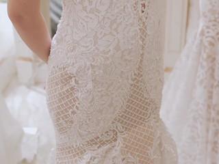 Video white wedding party