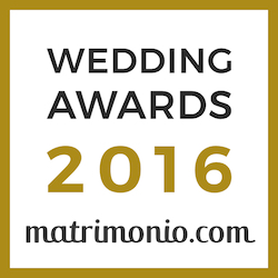 Fiorista Tonino, vincitore Wedding Awards 2016 matrimonio.com
