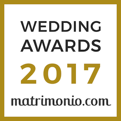 Vincitore Wedding Awards 2017 matrimonio.com
