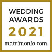 Vincitore Wedding Awards 2021