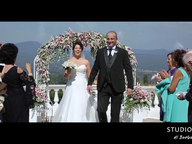 Il matrimonio di Luca e Claudia a Bassano Romano, Viterbo 1