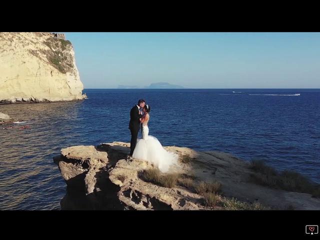 Il matrimonio di Stephen e Carmela a Bacoli, Napoli 1
