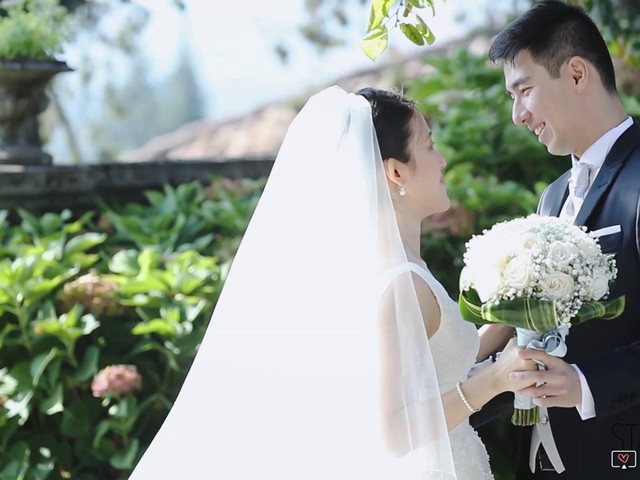 Il matrimonio di Yiwei e Yiwei a Eupilio, Como 1