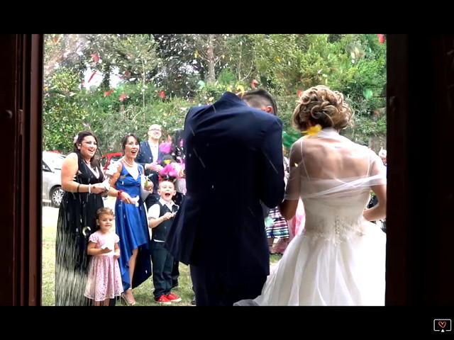 Il matrimonio di Stefano e Francesca a Canale Monterano, Roma 1