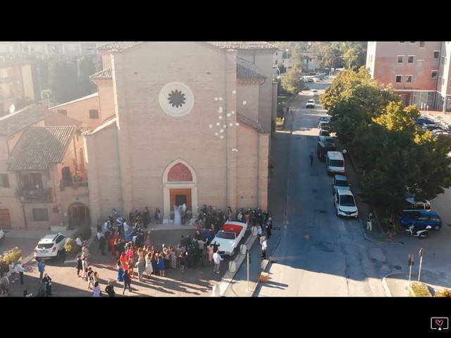 Il matrimonio di Filippo e Lucia a Corinaldo, Ancona 1