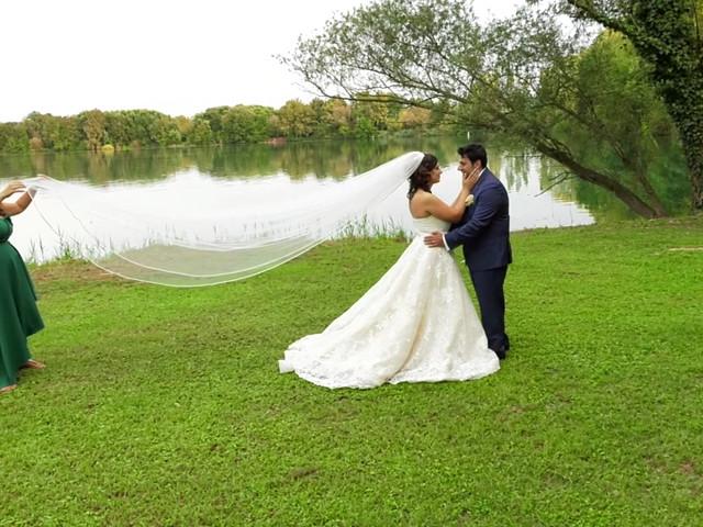 Il matrimonio di Carmine e Aura a Gaggiano, Milano 1