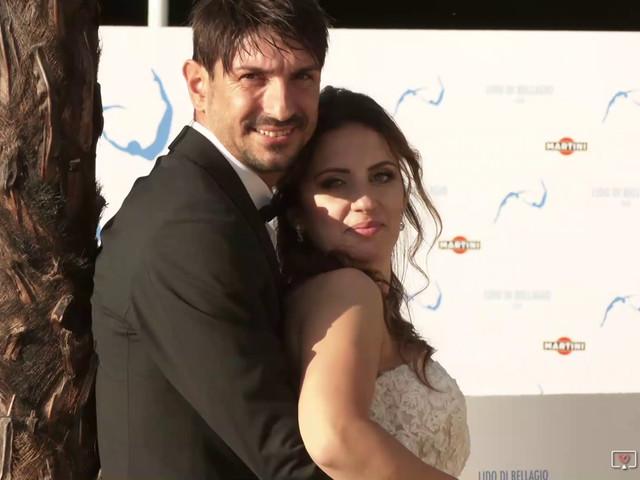 Il matrimonio di Fabrizio e Daniela a Valsolda, Como 1