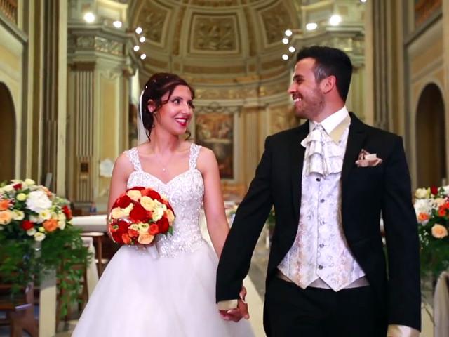 Il matrimonio di Simone e Rebecca a Genzano di Roma, Roma 1
