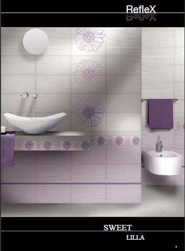 Scelta piastrelle bagno vivere insieme forum - Bagno lilla e bianco ...